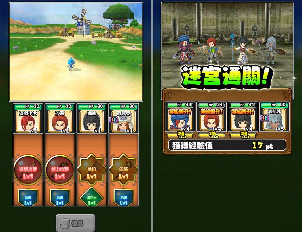 遊戲中的遇敵和戰鬥都是線性過程,玩家只需專心應戰即可。