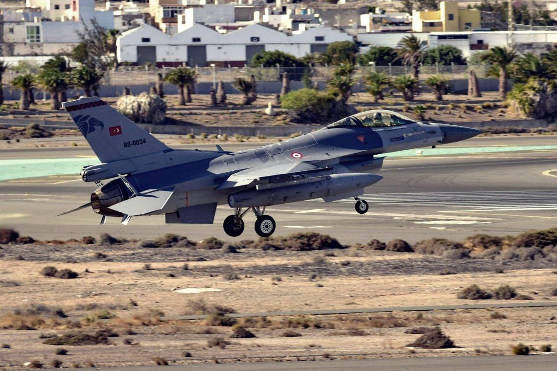 土耳其空軍。 圖/土耳其空軍