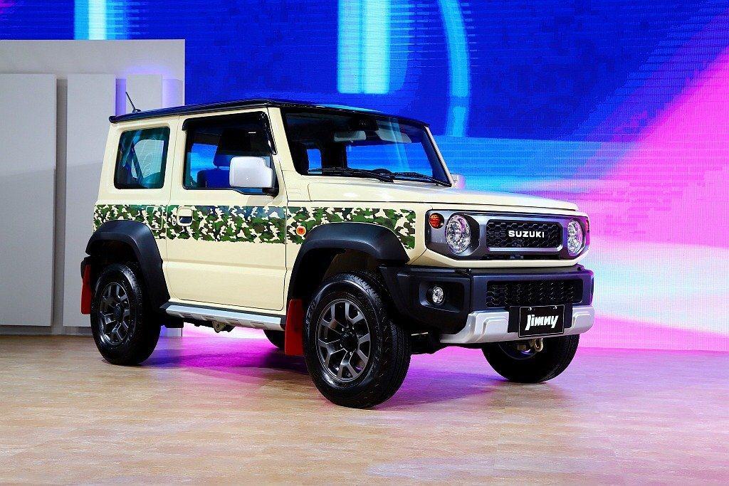 去年底台北國際新車大展上,Suzuki展場也以新Jimny為主秀並推出特仕車吸引...