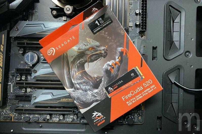Seagate採PCIe Gen. 4規格設計的火梭魚FireCuda 520 SSD