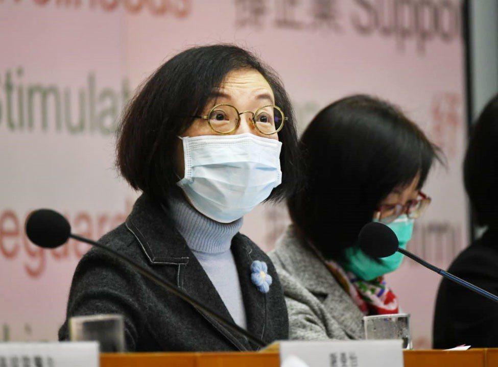 香港食物及衞生局局長陳肇始。圖/取自星島日報