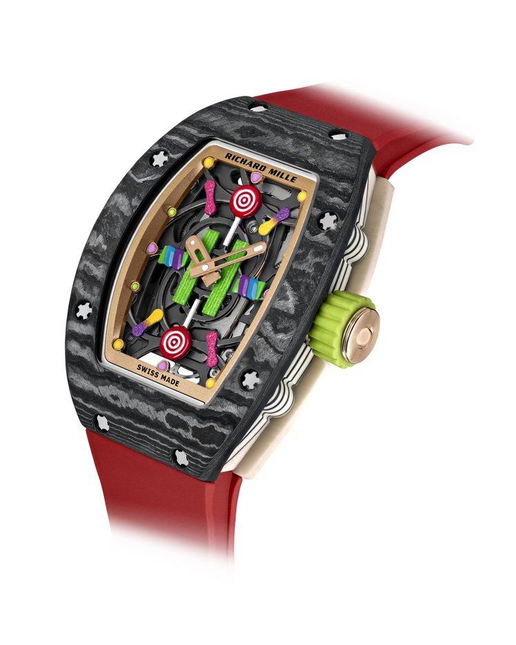 RICHARD MILLE,RM 07-03 Litchi腕表。加入棒棒糖、彩色...