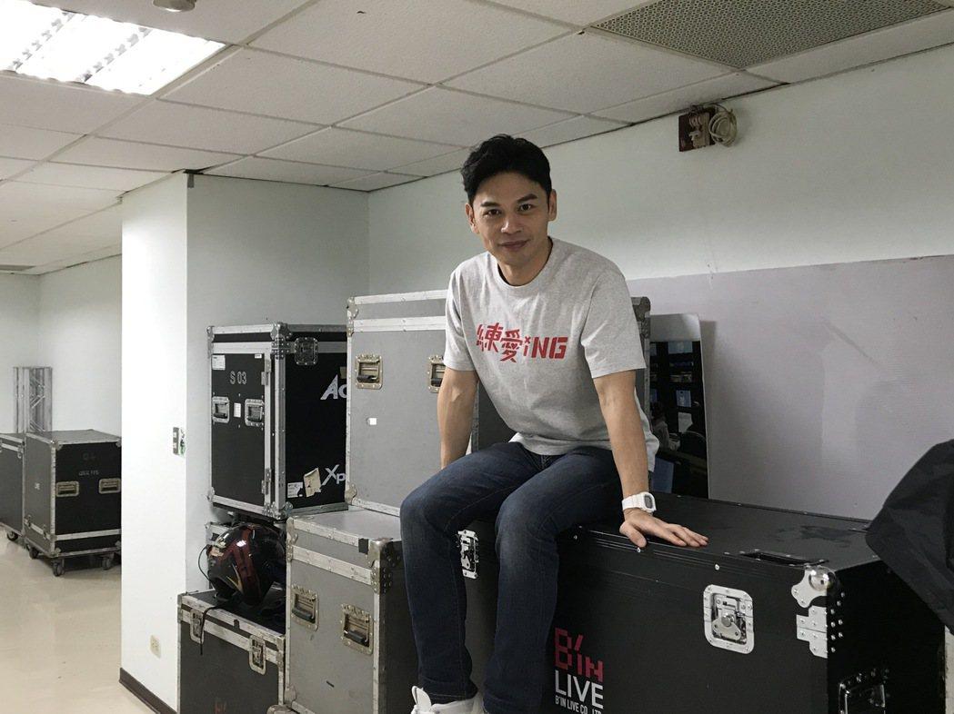 阿Ken堅持電影如期上映。記者李姿瑩/攝影
