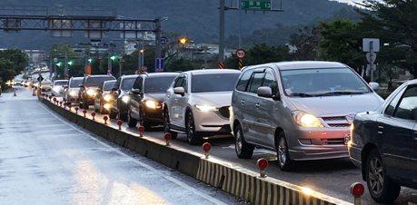 單線車道加上龜車過多 公路總局擬將蘇花改限速提高至70公里