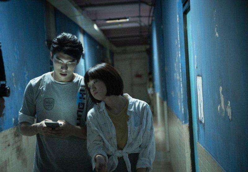 林哲熹、嚴正嵐在「女鬼橋」中飾演一對情侶。圖/傳影互動提供