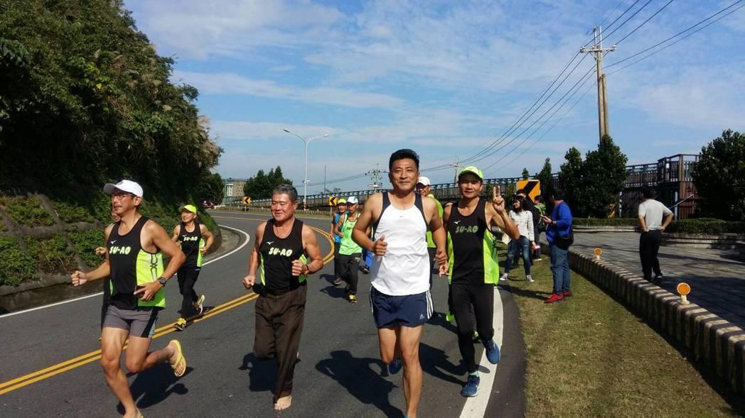 「2020蘇花馬拉松嘉年華路跑賽」將延期。資料照片/蘇澳鎮公所提供