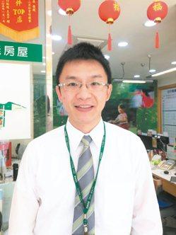 林詩偉(信義房屋三民綠光店) 年齡:41歲 入行年資:13年
