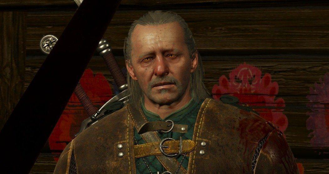 維瑟米爾在改編電玩《巫師3》中的形象