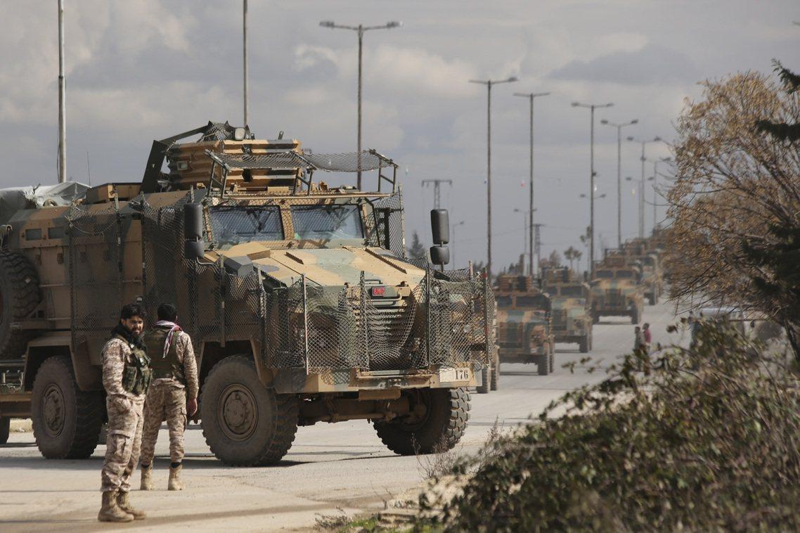 土耳其部隊。 圖/美聯社