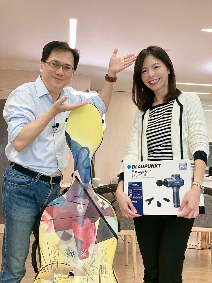 網紅購物專家「486先生」開出14萬薪水,邀請洪慈庸到他的YOUTUBE當購物專...