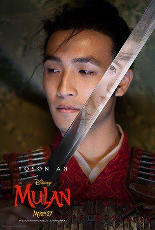 安柚鑫所演的「陳宏輝」將與花木蘭有曖昧關係。圖/摘自推特