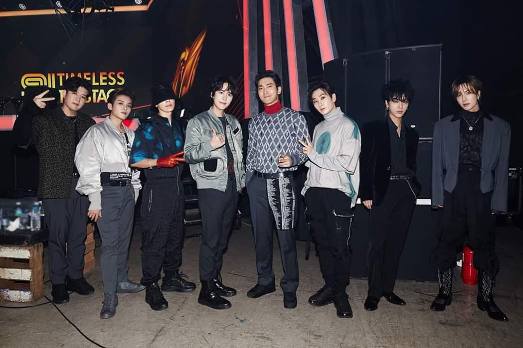 Super Junior熱心關注疫情。圖/摘自臉書
