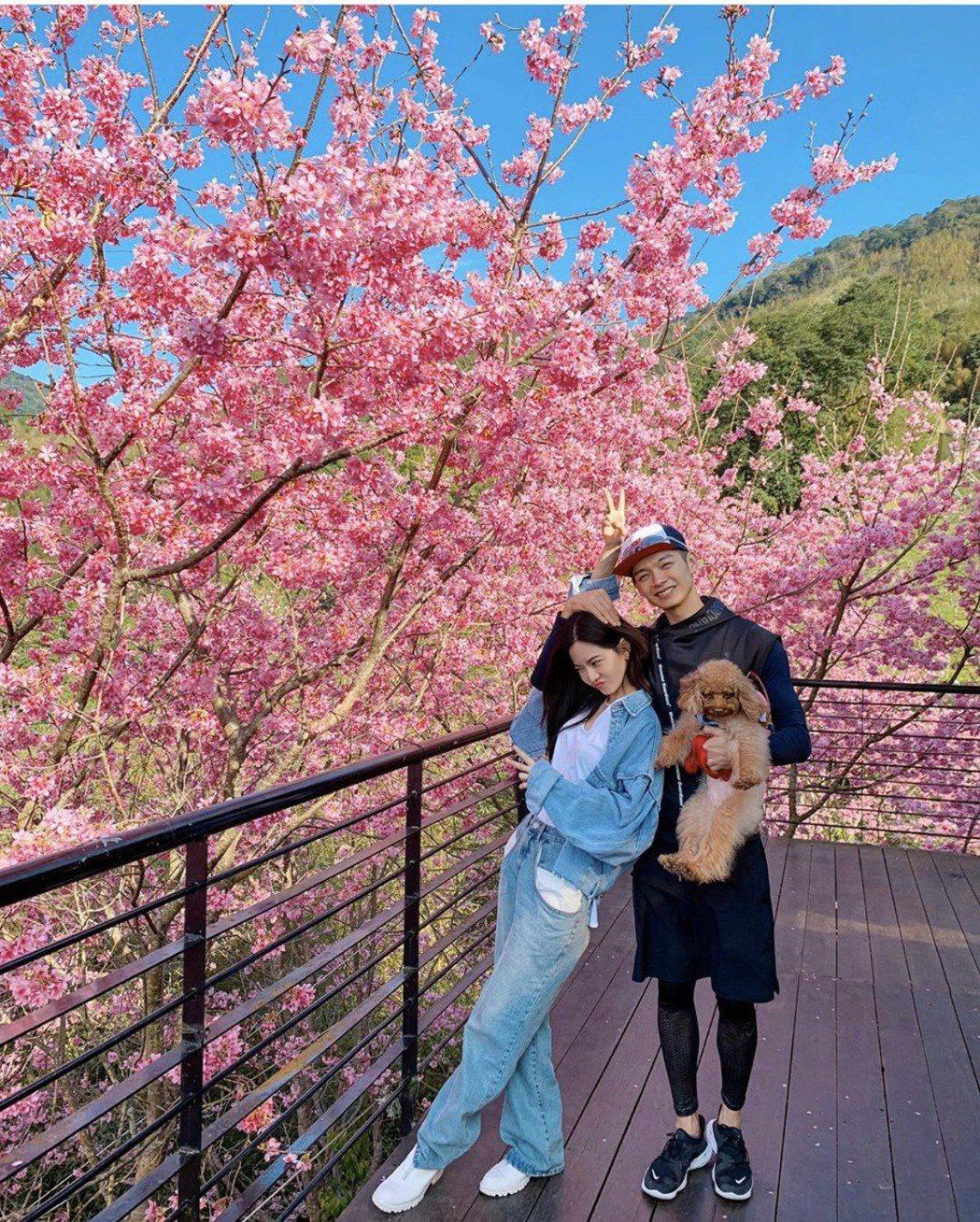 曾之喬、辰亦儒自宣布結婚後,感情升溫閃到不行。圖/翻攝IG