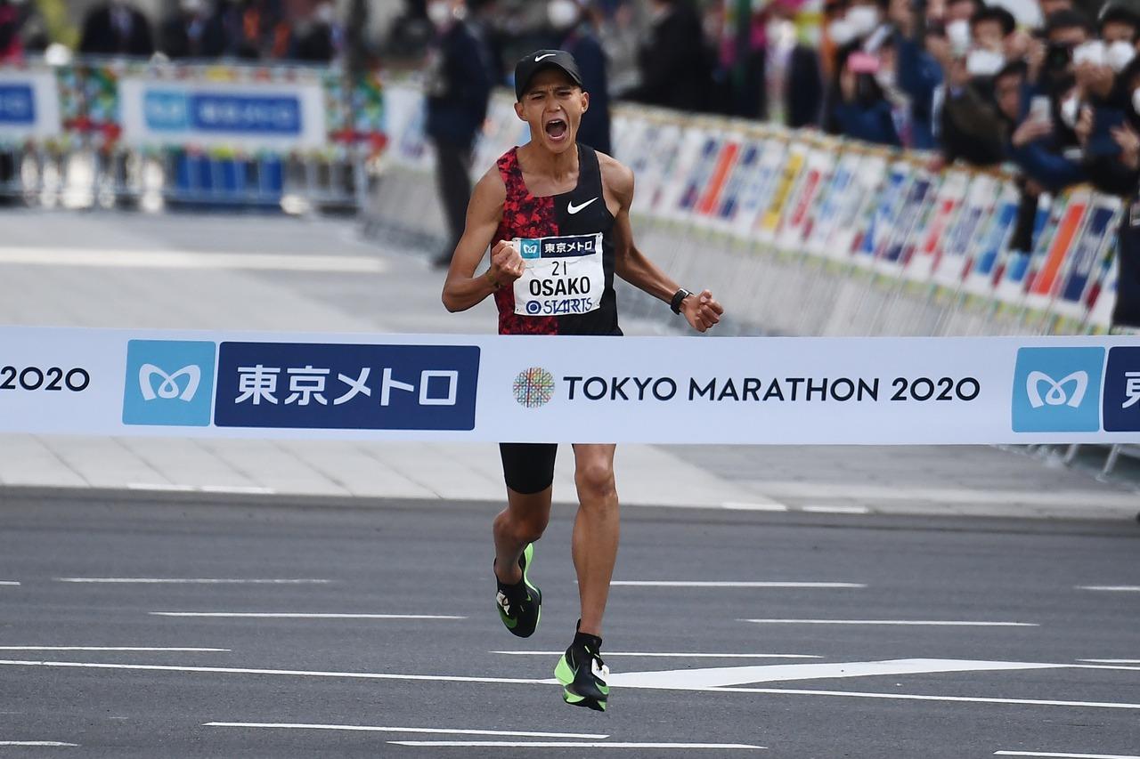 東京馬拉松/大迫傑再破日本紀錄 搶下最後東奧代表權
