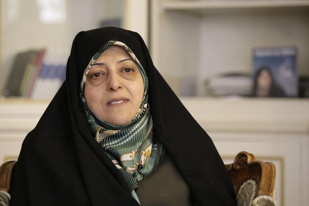 伊朗副總統蘇梅‧艾布特卡廿七日確診新冠肺炎,是目前全球最高層級病例。(美聯社)