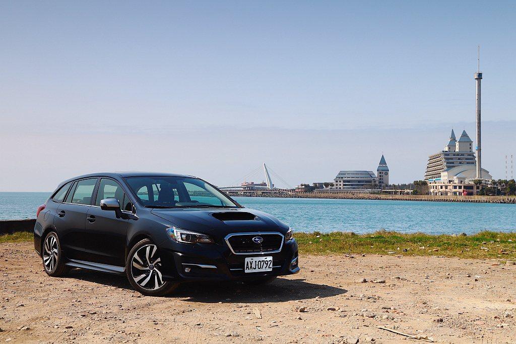 新年式Subaru Levorg進行銷售車型與售價調整。 記者張振群/攝影