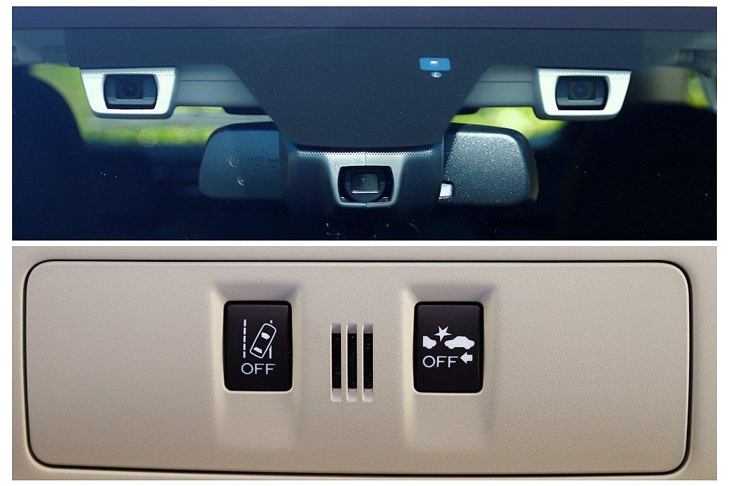 新年式Subaru Levorg 2.0 GT-S相同將EyeSight駕駛輔助...