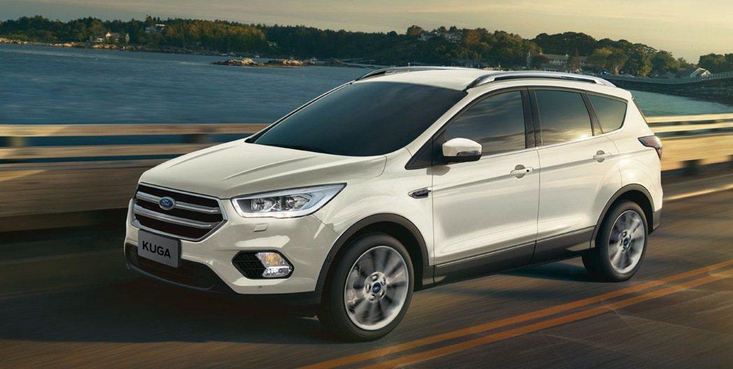 Ford三月份Ford Kuga 行家典藏專案舊換新限定優惠85.9萬元起。 圖...