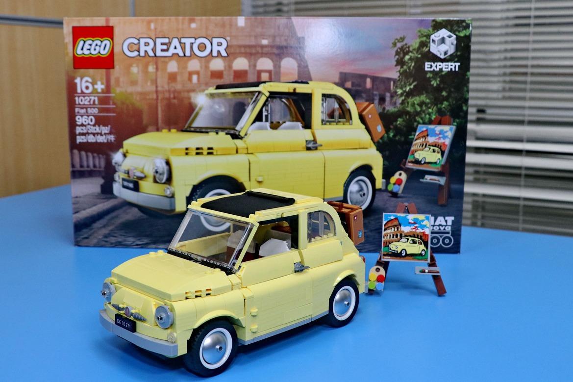 【老司機發燒貨】LEGO Creator Expert 10271 Fiat 500開箱