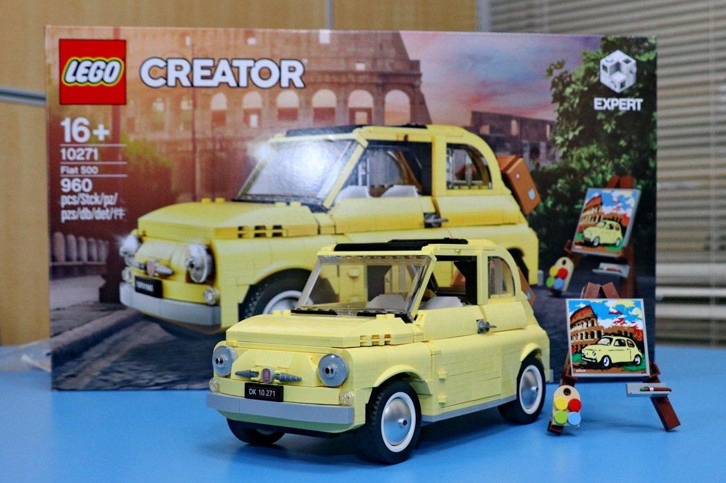 LEGO Creator Expert 10271 Fiat 500,3月1日正...