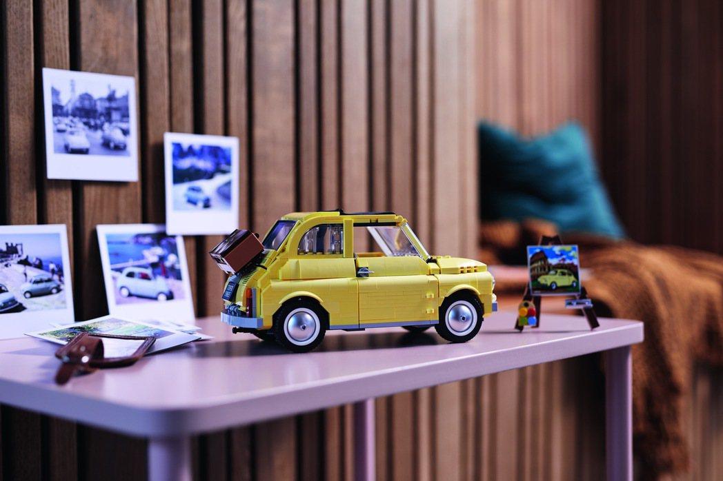 LEGO Creator Expert 10271 Fiat 500。 圖/LE...
