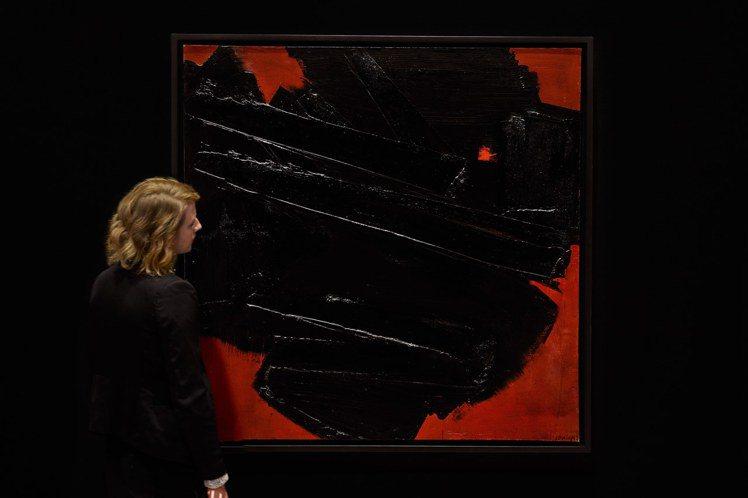 蘇拉熱《繪畫,128.5 x 128.5公分,1959年12月16日》將於202...