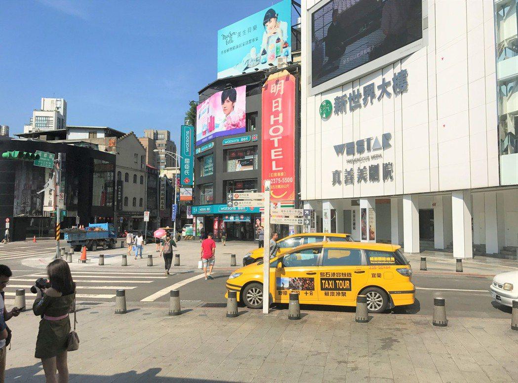 西門町。記者游智文/攝影