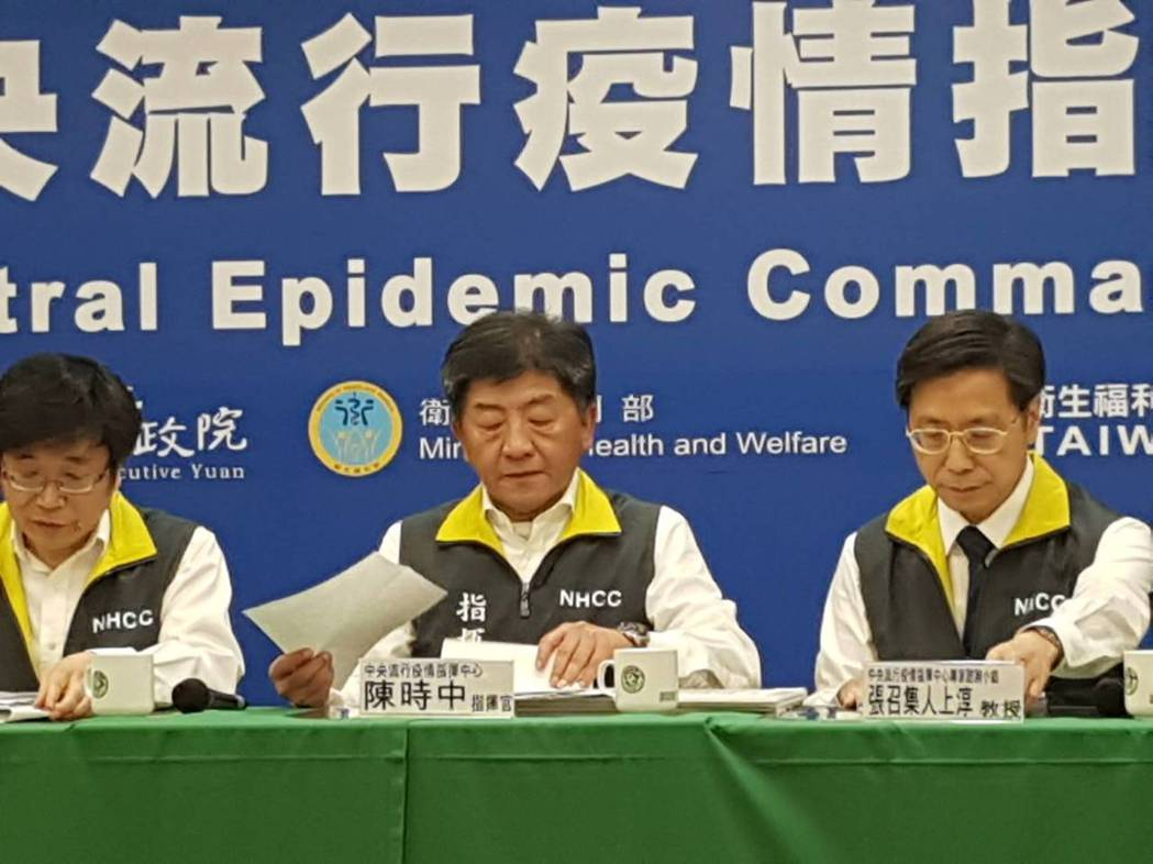 陳時中表示防止院內感染,醫院採「分艙分流」管制。記者楊雅棠/攝影