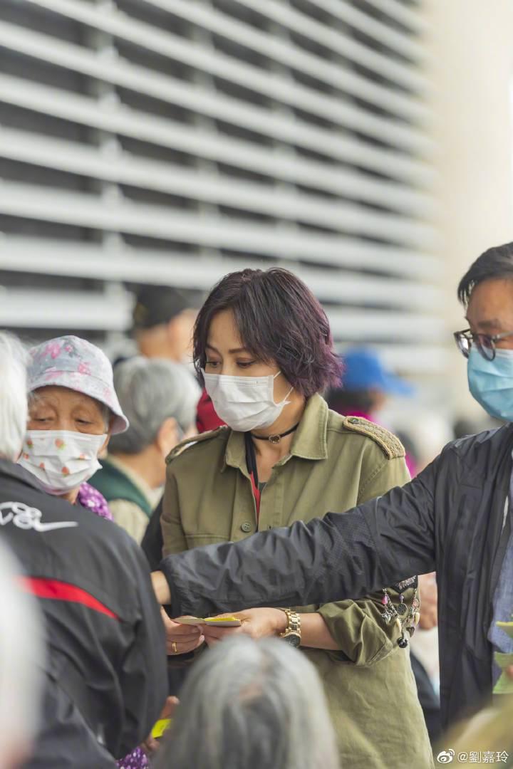 劉嘉玲為疫情做公益。圖/摘自劉嘉玲微博