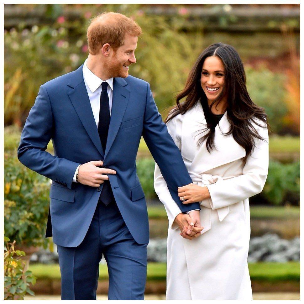 梅根、哈利王子。圖/摘自Instagram