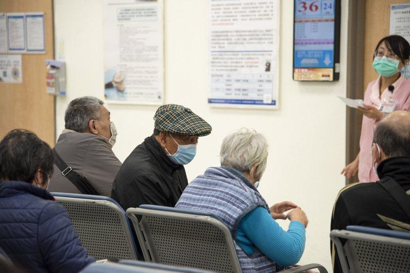 台灣已進入高齡化社會,大部分年長者都會有慢性病。圖為示意圖。 記者張曼蘋/攝影