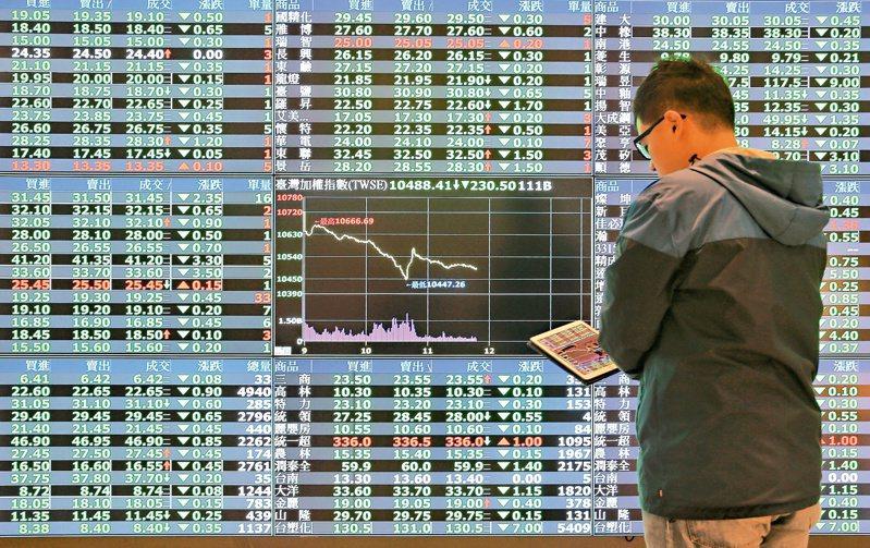 台股今(3)日在美股大漲帶動,以高盤開出。圖/聯合報系資料照片
