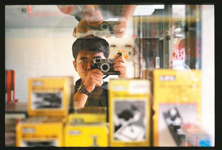 陳志煌大學念的是攝影,卻因興趣走上咖啡路。圖/陳志煌提供