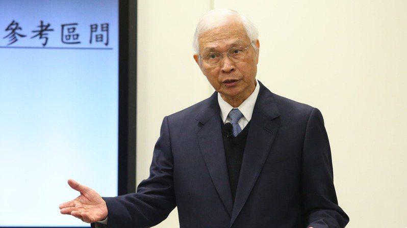 央行總裁楊金龍。 圖/聯合報系資料照片