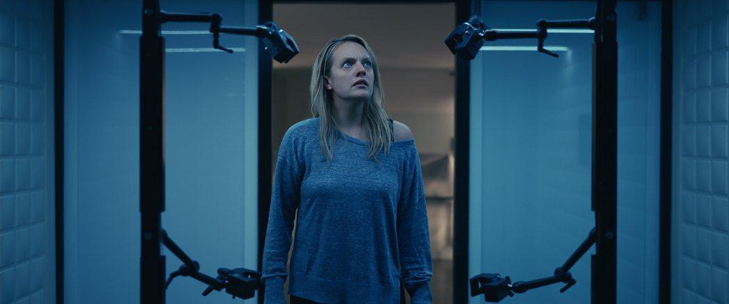 恐怖電影「隱形人」首周末美票房第一。 美聯社