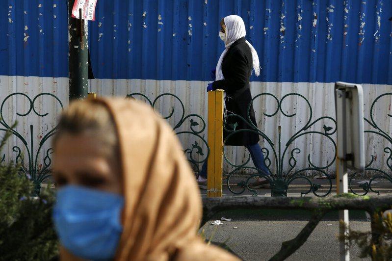 伊朗新冠肺炎死亡病例僅次於中國,為全球第2多。 美聯社