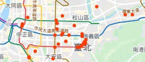 使用武漢肺炎軌跡地圖,要開啟Google Maps時間軸。如果你看到紅點,表示已...