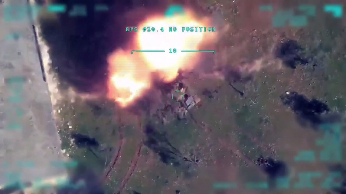土軍宣稱3月1日發動的軍事打擊:「敘利亞政府軍與其民兵側翼,至少被土軍轟殺擊斃了...