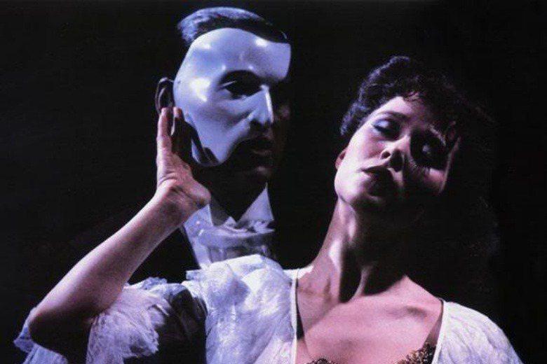 羅貝卡露克參演的第一齣戲《歌劇魅影》。 圖/取自Rebecca Lucker官網