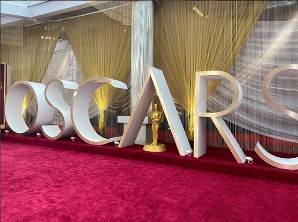 奧斯卡頒獎典禮的紅毯一直是全世界的重要話題。 取自 Oscars IG
