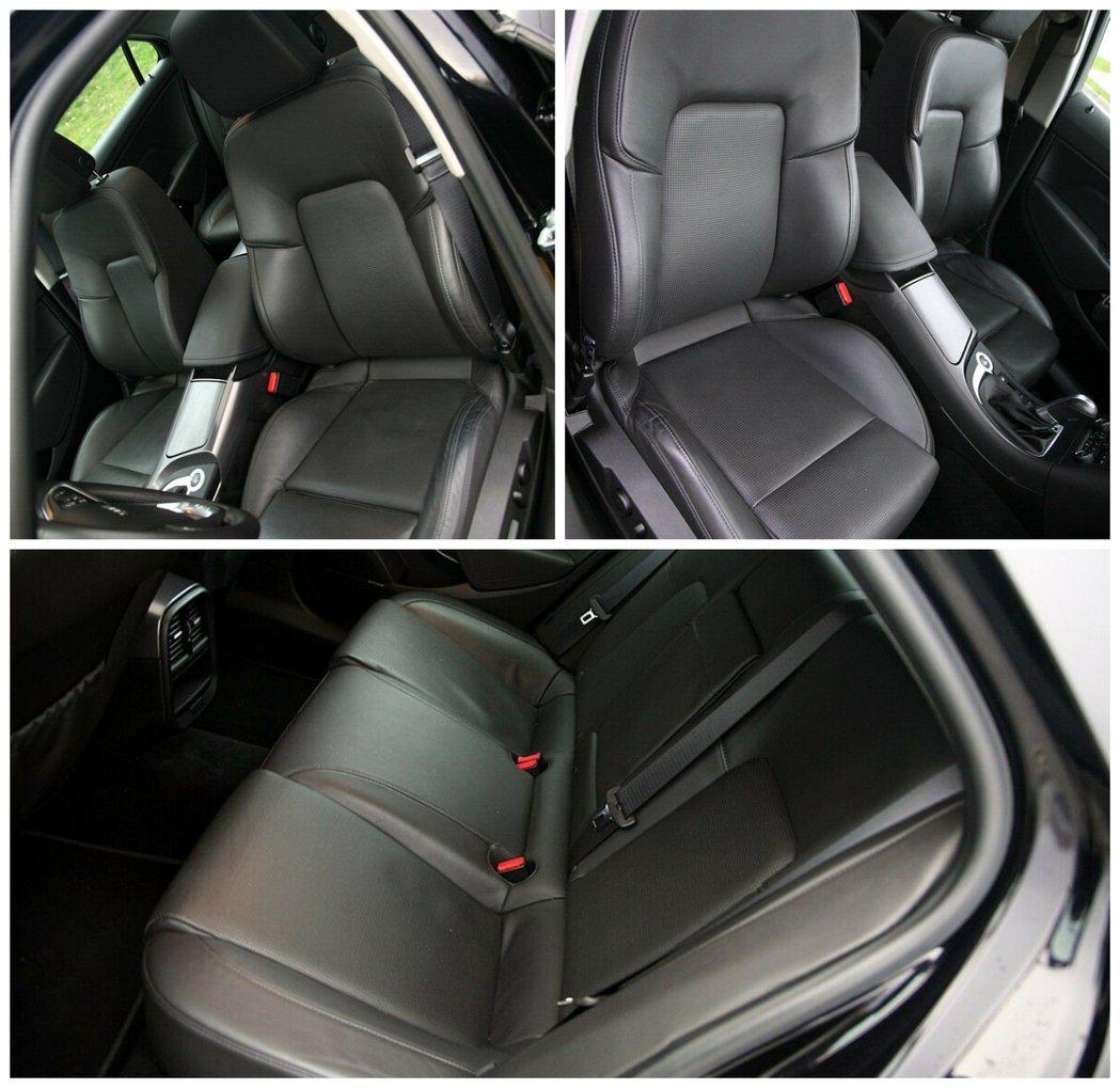 Saab 9-5僅在座椅上有些許使用痕跡。 摘自carscoops