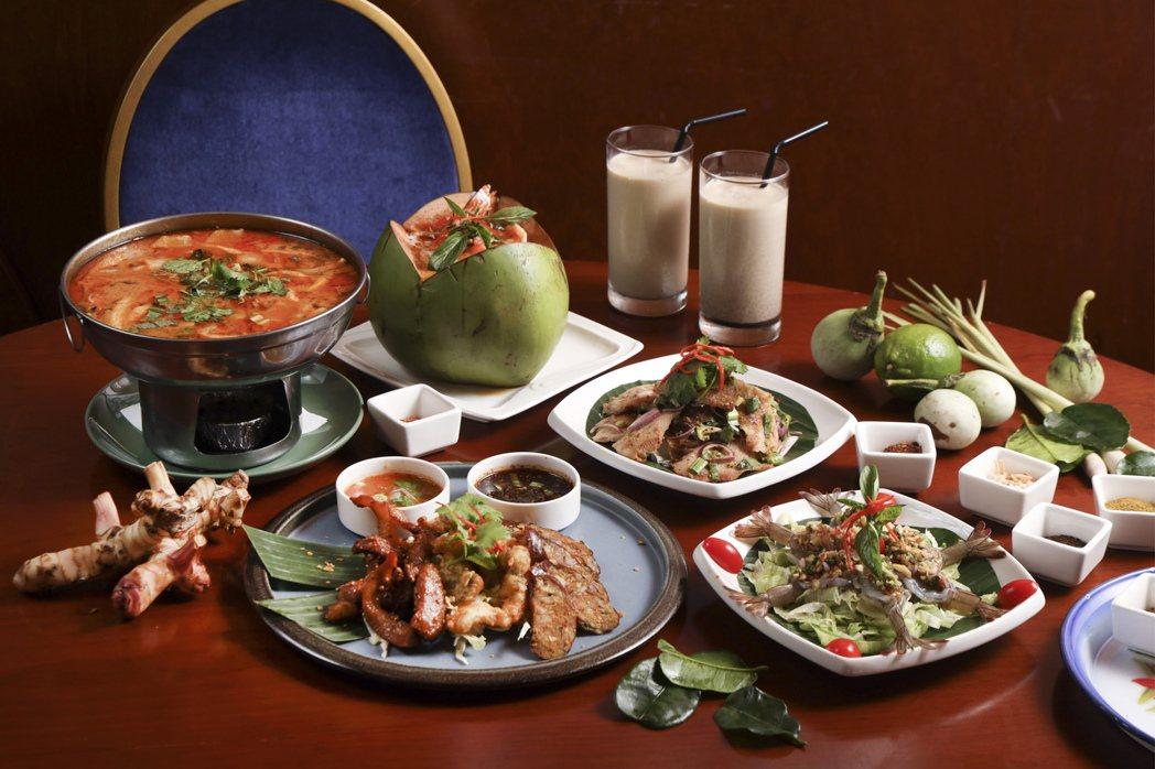 傳統泰北料理-心泰。 圖/京站提供