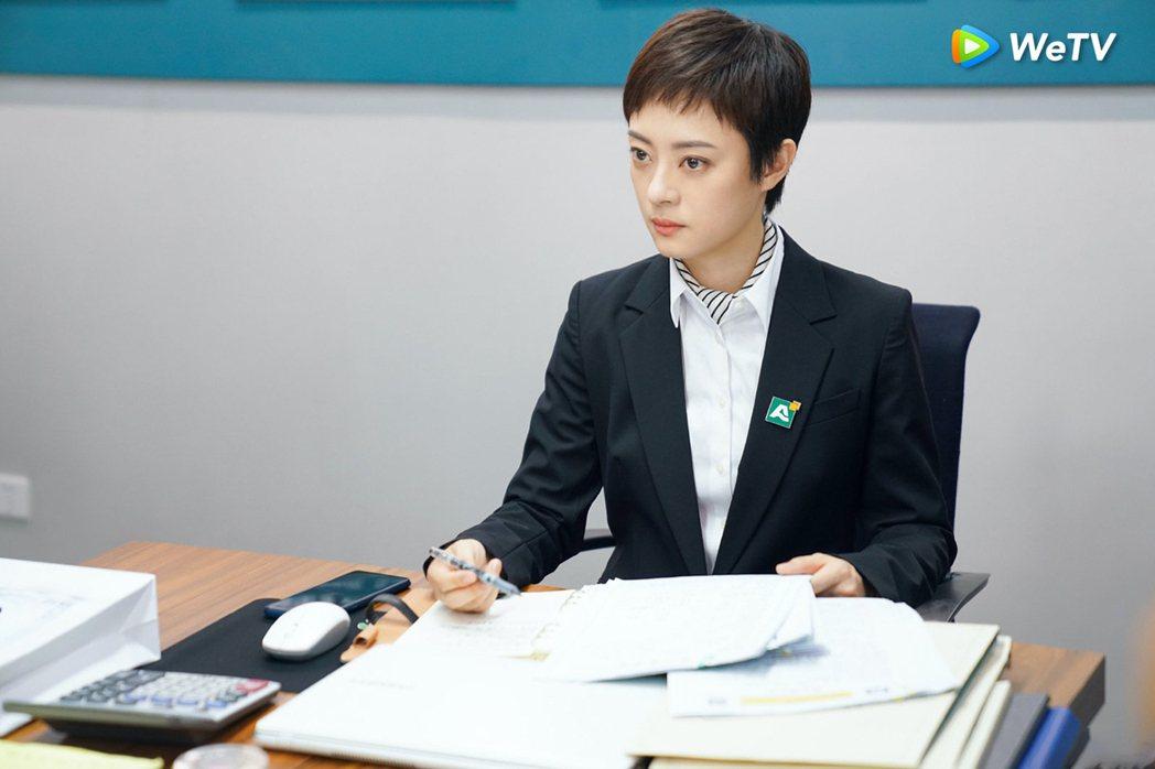孫儷演出「安家」霸氣上線。圖/WeTV提供