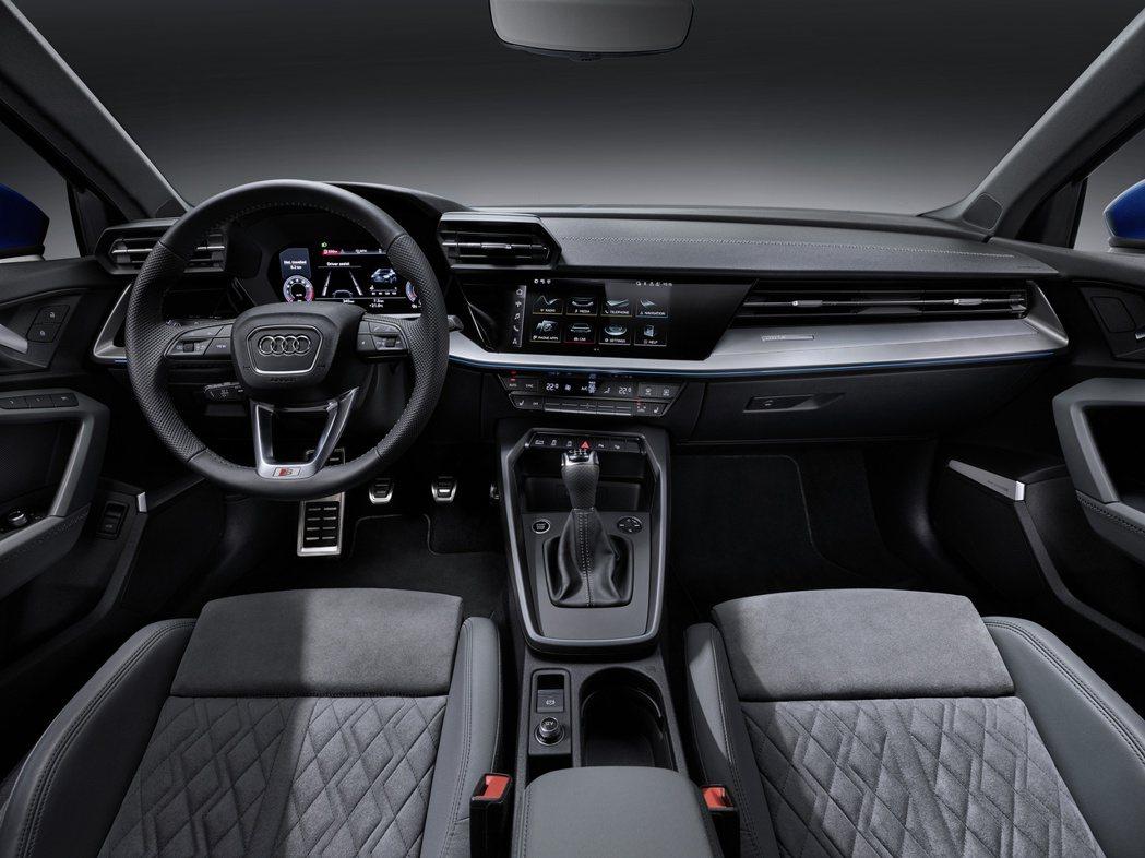 第四代Audi A3 Sportback 內裝。 摘自Audi