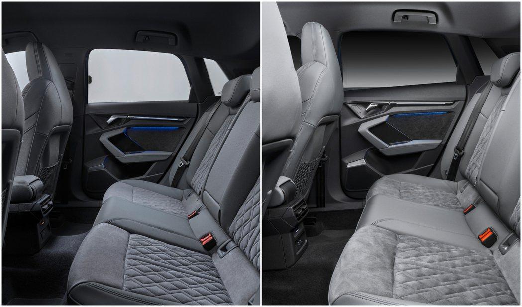 第四代Audi A3 Sportback 座椅。 摘自Audi