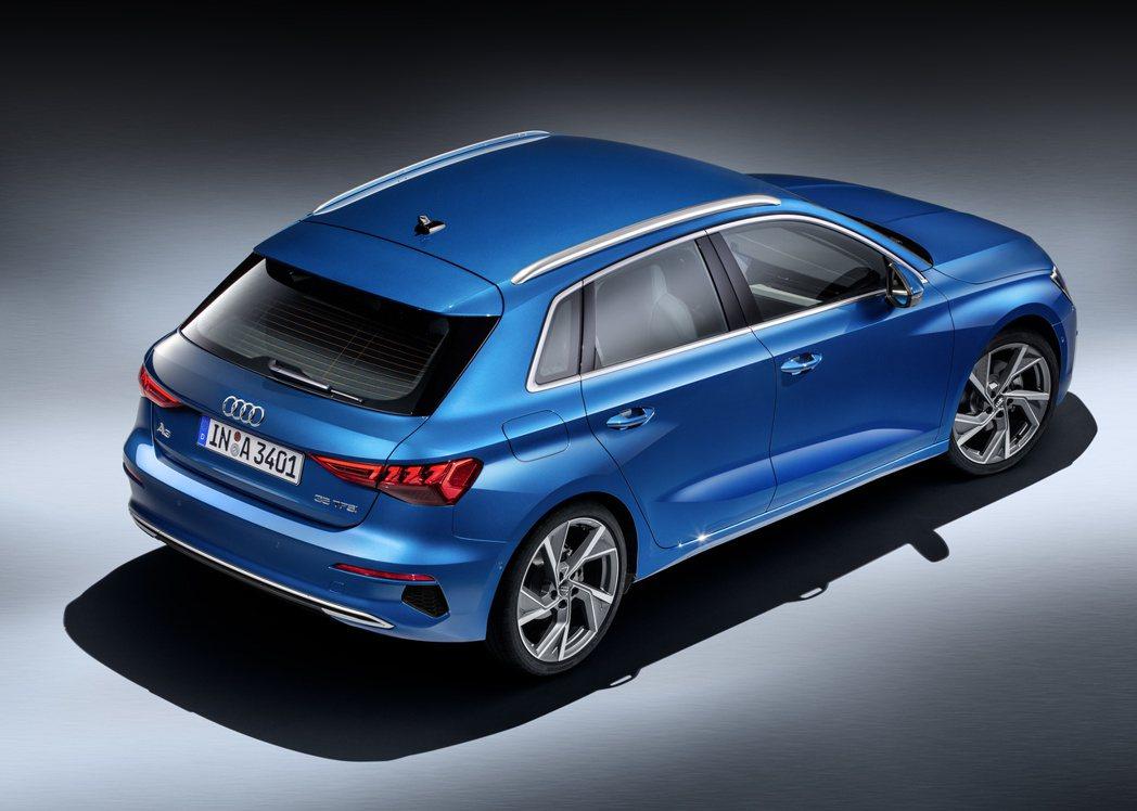 第四代Audi A3 Sportback。 摘自Audi