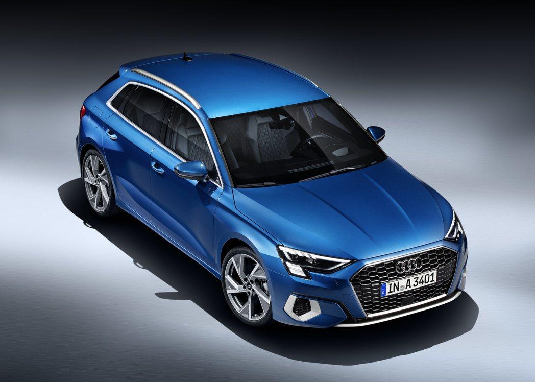第四代Audi A3 Sportback歐洲售價已出爐。 摘自Audi