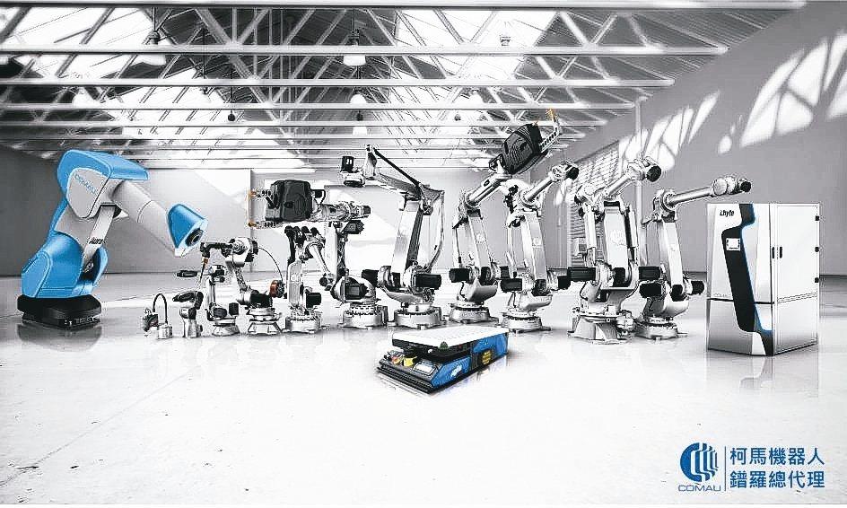 義大利柯馬機器人擁有最完整的產品組合,有效負載從3公斤到650公斤,在各領域的應...