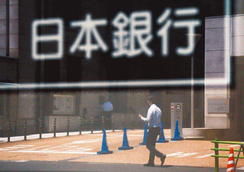 日本銀行(央行) 本報資料照片