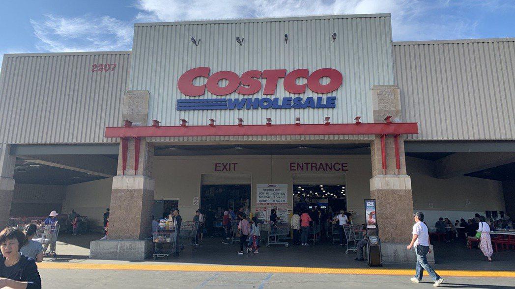 連鎖超市好市多(Costco)。 報系資料照